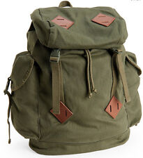 AERO Aeropostale Military Canvas Parachute & Messenger Backpacks Book School Bag
