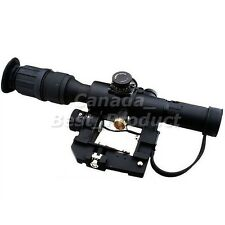Airsoft Tactical Solid Red Illuminated 4x26 Scope