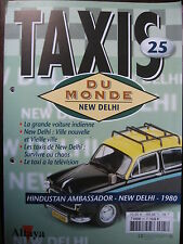 FASCICULE 25  BOOKLET TAXI DU MONDE HINDUSTAN AMBASSADOR / NEW DELHI / 1980