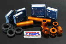 TYGA  KTM RC390 aluminium wheel spacer kit orange RC125 RC200