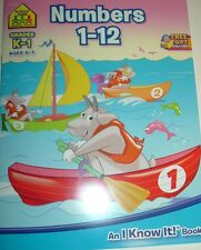 Numbers 1-12, Grades K - 1. Ages 5 - 7 - School Zone Publishing