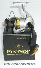 FIN-NOR LETHAL 100 Spinning Reel #LT100 FREE USA SHIPPING! NEW! 4.9:1 Gear Ratio