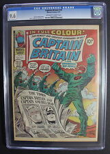 CAPTAIN BRITAIN #19 1st LANCE HUNTER 1977 SHEILD MOST WANTED SCARCE CGC NM+ 9.6