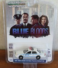 2017 Greenlight Hollywood BLUE BLOODS 2001 FORD CROWN VICTORIA POLICE INTERCEPTO