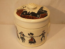 POT A TERRINE SARREGUEMINES DECOR ALSACE