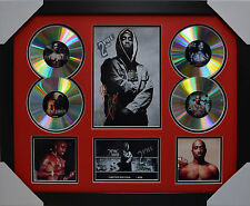 TUPAC 4CDs FRAMED MEMORABILIA LIMITED EDITION