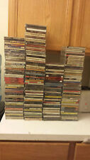 100 USED CD WHOLESALE LOT, ALL GENRES, WHOLESALE FOR RESALE