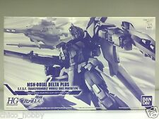 Bandai 0177321 HGUC 1/144 MSN-001A1 Delta Plus Gundam Inner Space Clear Version