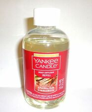 Yankee Candle SPARKLING CINNAMON Reed Diffuser Refill Oil 4 oz FREE SHIPPING