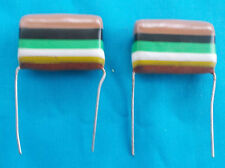 2 x 1.0uf Mullard C280 Metallised Polyester ( Tropical Fish) Capacitors  400vdc