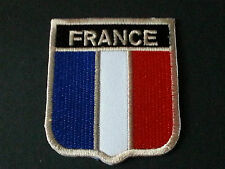 BACKPACKERS NATIONAL COUNTRY SHIELD FLAG SEW/IRON ON PATCH:- FRANCE