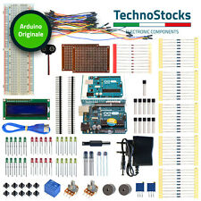 Kit Arduino UNO Originale ATmega328 Led Relè Display Jumper Sensori - KIT 1