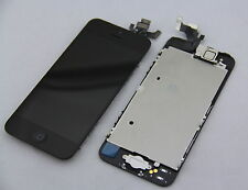 Black LCD Lens Touch Screen Display Digitizer Replacement Assembly for iPhone 5