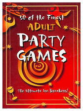 50 of the Finest Adult Party Games by Heather Dickson (Hardback, 1999)