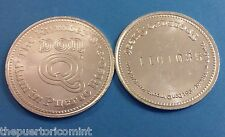 Ron DON Q Rum PUERTO RICO 1980 s Contest Lucky token Type 1 ITALIC #s 1/2 Dollar