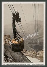 Bleichert Leipzig Werkfoto Drahtseilbahn Schwebebahn Alpen Säntis Hundwil 1933!!
