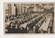 Radcliffe Co-Operative Hall Samuel Lomax & Sons Anniversary 1937 RP Postcard 388