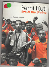FEMI KUTI - live at the shrine DVD