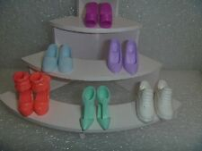 Barbie Shoes - A 6 Pack Variety and Style & Color 6BP-8
