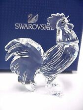 ROOSTER CLEAR ANIMAL CRYSTAL NATURE BIRD 2016  SWAROVSKI #5135943