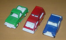 TOOTSIETOY  LOT OF 3 DIE CAST VEHICLES  1970'S  JEEPSTER  CUSTOM VAN  PICKUP