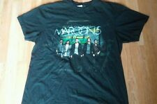 Maroon 5 Concert Tour Adam Levine Pop Rock Band Black T Shirt Women's. sz Medium