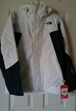 NEW! $220 The North Face Independence Waterproof Jacket Sulphur White & Blue, S