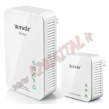 ADATTATORE POWERLINE TENDA PW201A + P200 WIFI 300Mbps ACCESS POINT RIPETITORE