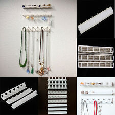 9PCS Jewelry Earring Organizer Hanging Holder Necklace Display Stand Rack Holder