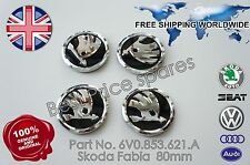 NEW GENUINE SKODA FABIA MK1  BADGE  EMBLEM 80mm 6V0853621A