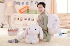 Kawaii Lolita Rabbit Doll Backpack Shoulder Bag Cute Bunny Long Ears Toy 50cm