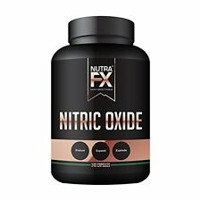 Nitric Oxide Supplements Booster Pump Extreme L-ARGININE 240 Capsules 3000mg