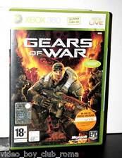 GEARS OF WAR gioco usato ottimo stato prima stampa ufficiale italiana FR1 X360