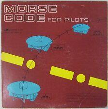 Avions 33 tours Code Morse pour pilotes
