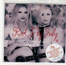 (DK231) Red Sky July, Green Country Lanes / Already Gone - 2012 DJ CD