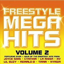 FREE US SH (int'l sh=$0-$3) NEW CD VARIOUS ARTISTS: Freestyle Mega Hits 2