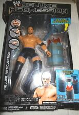 WWE JAKKS DELUXE AGGRESSION 8 GREGORY HURRICANE HELMS Wrestling Action Figure