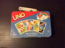 Care Bears Special Edition Uno Tin Set 2003 ComPlete EUC 112 Cards