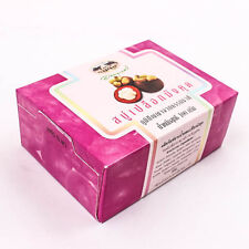 Thai Natur 100g. Früchte Bar Seife Beauty Körper Haut Mangosteen Peel Soap T0048