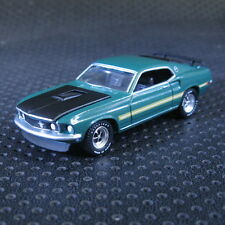 1:64 Greenlight 1969 Ford Mustang Mach 1  Die cast Model Car Loose