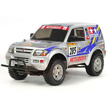 Tamiya CC-01 Mitsubishi Pajero Rally Clear Body EP 1:10 RC Cars Truck #11825846