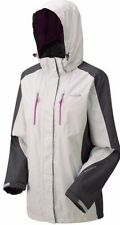 New Women's Regatta Calderdale Waterproof Jacket Light Steel / Iron UK 10 EUR 36
