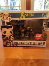 X-Men Wolverine's Motorcycle Marvel Collector Corps #26 Funko Pop Rides *WOW*