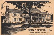 BIRD & BOTTLE INN Albany Post Road Garrison, NY Roadside Restaurant Postcard