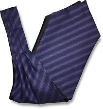 Mens Striped 'Under Shirt' Cravat Tie Royal Ascot with Purple Lilac Gradient