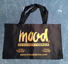 Project Runway Big MOOD Fabrics Canvas Tote Bag with Web Handle - NEW
