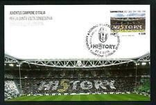 Juventus Campione 2016 - Cartolina Filatelica Ufficiale Poste Italiane