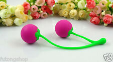 Cherry Ben Wa Balls Kegel Exerciser Vaginal Duo-Tone Triple Tightening UK