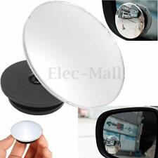 Universal 2'' Wide Angle Convex Rear Side View Blind Spot Rearview & Side Mirror