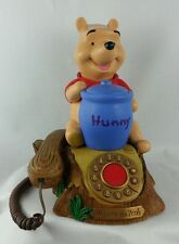 Telemania Disney Winnie The Pooh Animated Telephone With Piglet Collectible